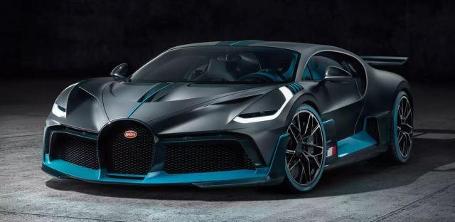 Novo carro da Bugatti
