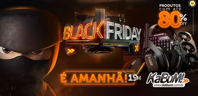 Black Friday de tecnologia!