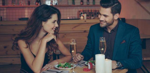 Faça um jantar romântico