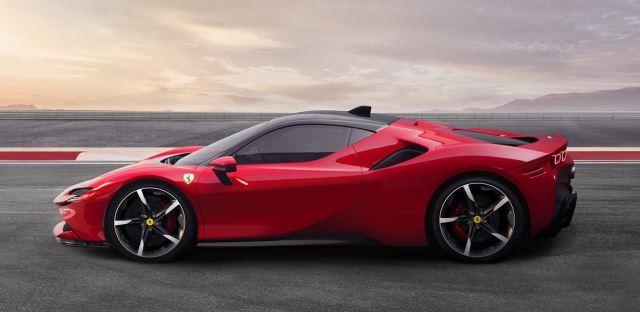 O novo carro da Ferrari