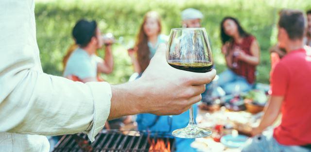 Churrasco e vinho dá certo?