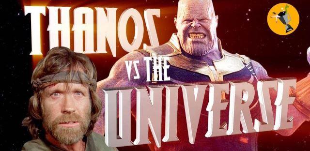 Chuck Norris vs Thanos!