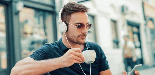 Café, bebida para homens
