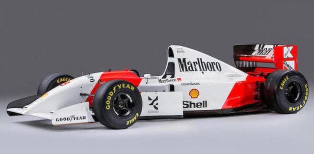 O carro de Ayrton Senna