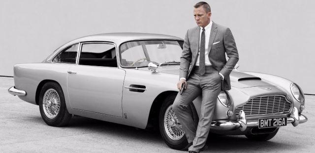 Os 10 melhores carros de Bond