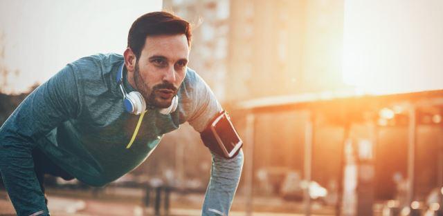 5 motivos para fazer flexões