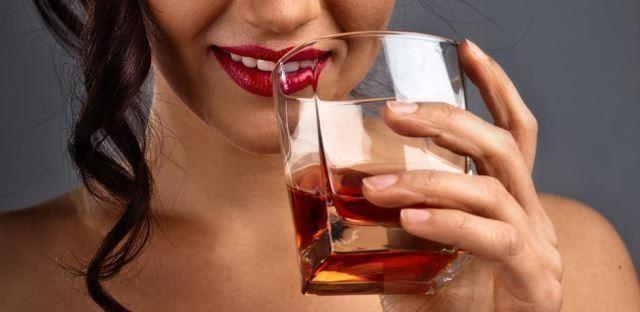 Whisky com toque feminino