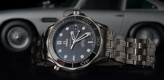 Os relógios de James Bond