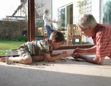 Ficar próximos dos avós ajuda na construção do caráter