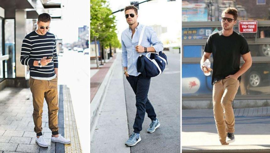 395607d336 Um homem que gosta de estar sempre bem vestido precisa de calças mais  formais e bem costuradas. A calça sarja carrega tudo isso com praticidade e  estilo