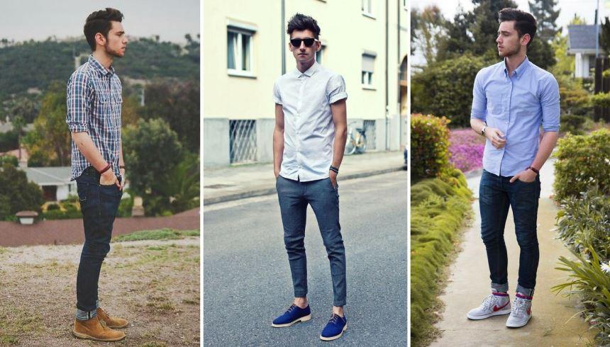910f307d3 Como combinar camisa social com calça jeans - Vibe - Estilo
