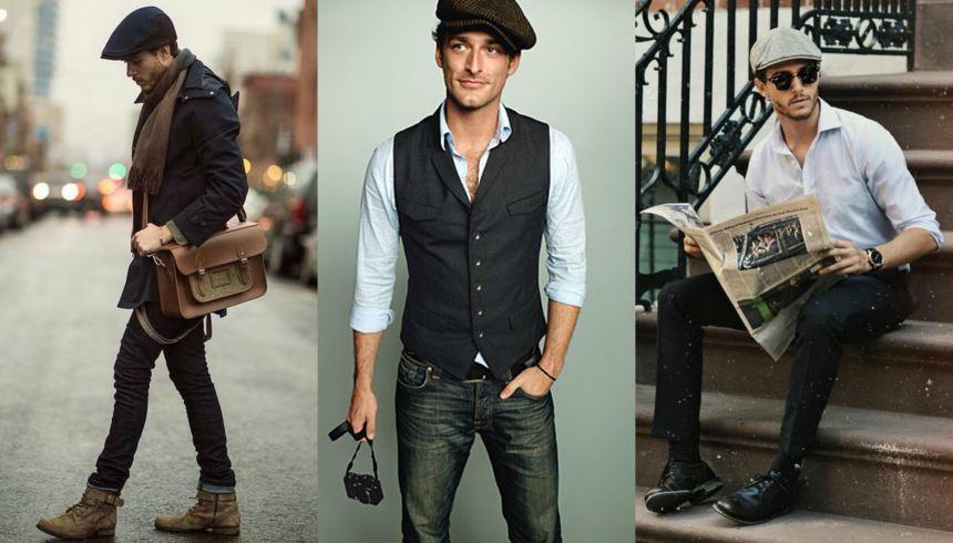 7 Dicas de como usar boina masculina sem parecer velho - Cool ... f9dc3d8ef91