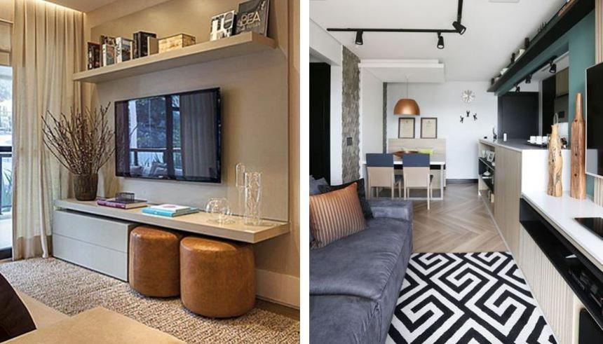 Dicas para decorar um apartamento pequeno com estilo e bom for Acabados para apartamentos pequenos
