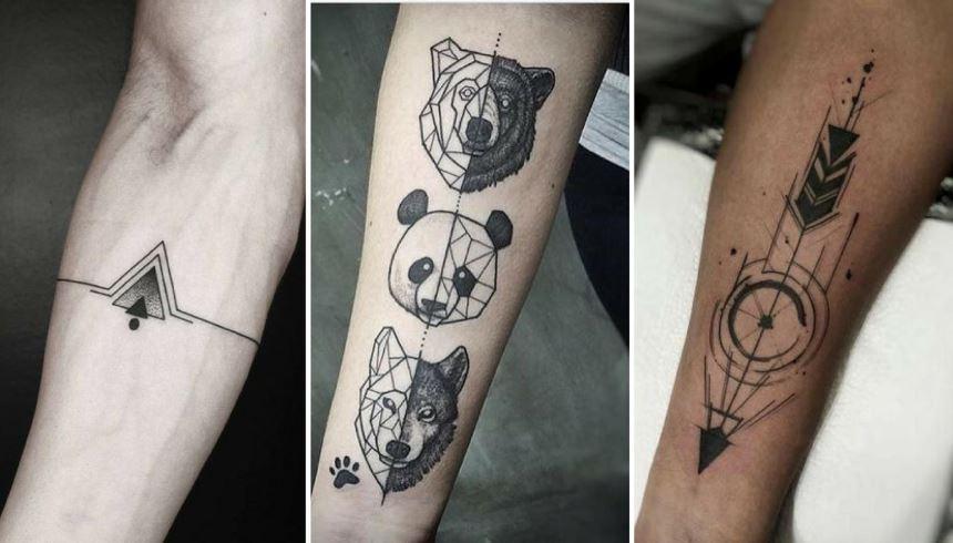 Tatuagens Masculinas três