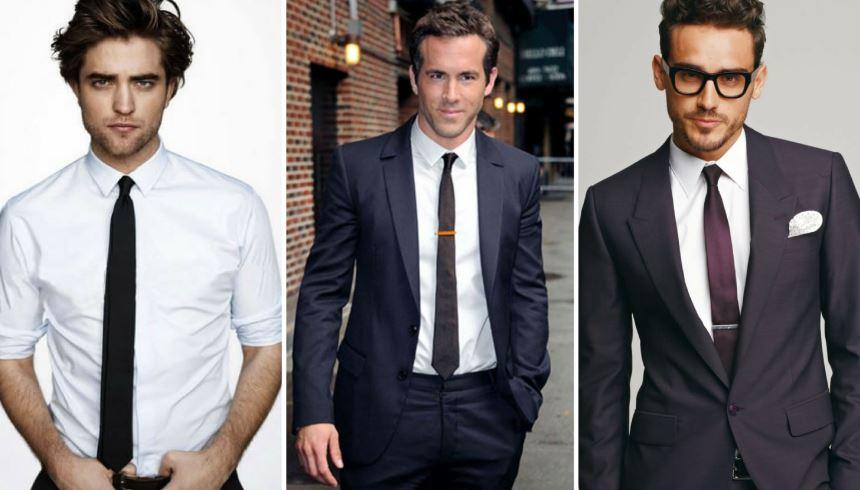 Tipos de gravata  quais os modelos e em qual momento usar  - Vip ... 459b7303f1b