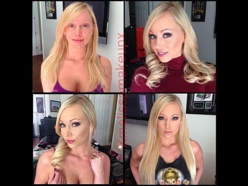 Antes e depois atrizes pornô