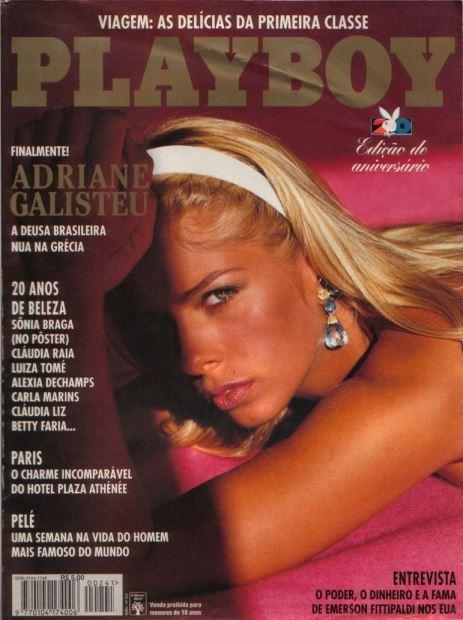 Capas da Playboy nos 40 anos de história