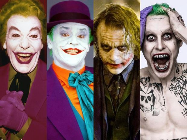 Atores que interpretaram o Coringa no cinema