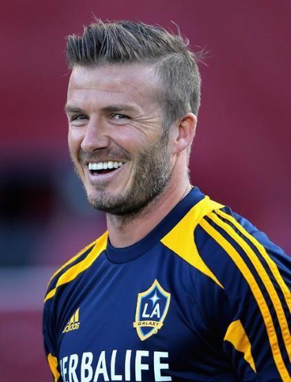 Cortes de cabelo do Beckham