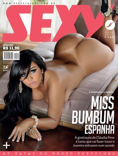 Cláudia Pires - Miss Bumbum Espanha