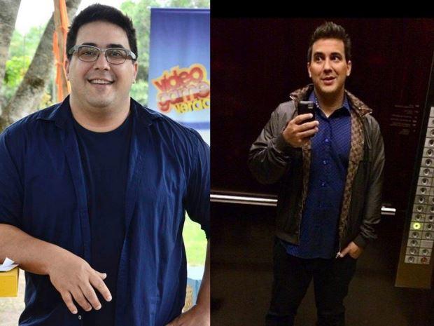 Veja o antes e depois de famosos que emagreceram radicalmente
