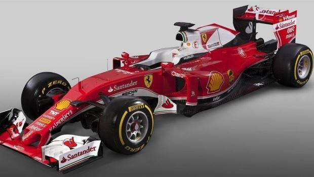 Carros da Formula 1 2016