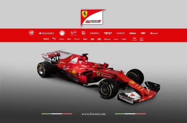 As máquinas da Fórmula 1 em 2017
