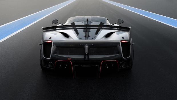 Nova Ferrari FXX-K EVO