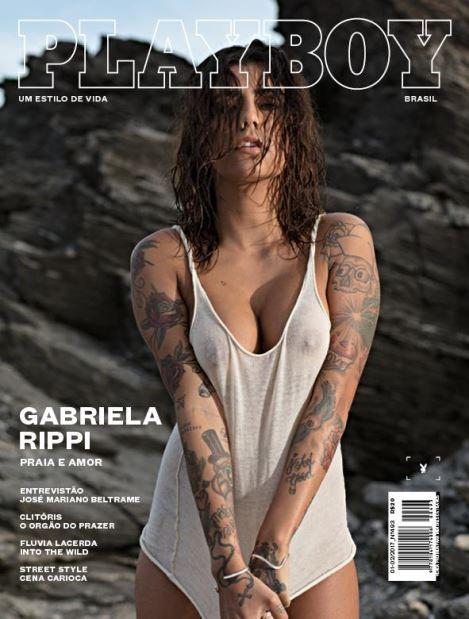 Gabriella Rippi - Capa da Playboy | Verão 2017