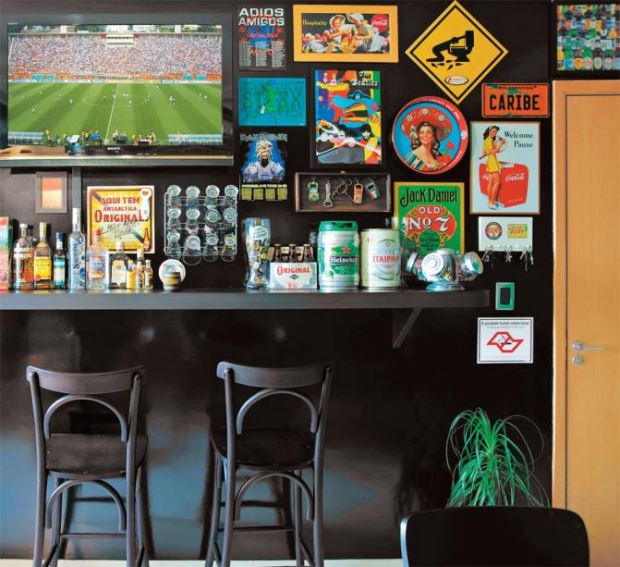 Home Bar: 15 Ideias Para Você Montar Seu Próprio Espaço ...