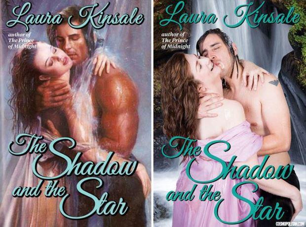 Homens e mulheres recriam capas dos clássicos eróticos