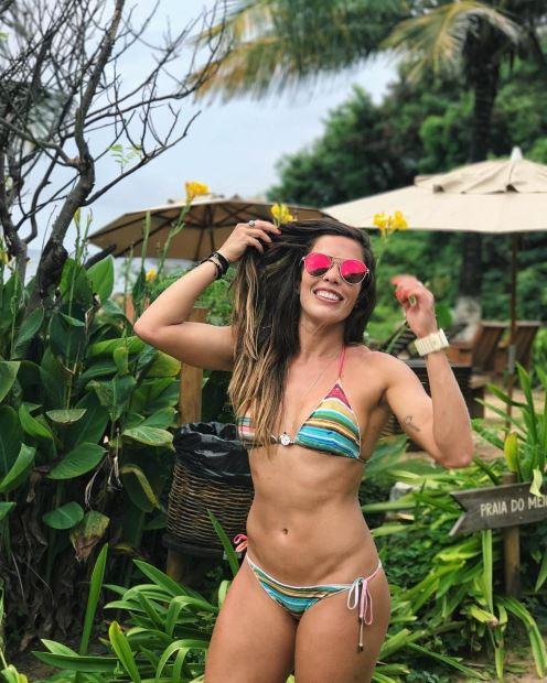 Nina Monteiro, participante de Exathlon Brasil