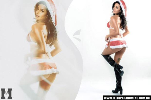 Patrícia Andrade - Ensaio de Natal