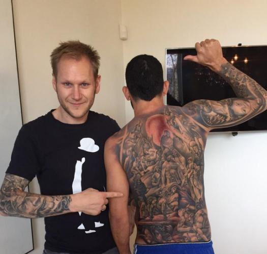As piores tatuagens dos jogadores de futebol