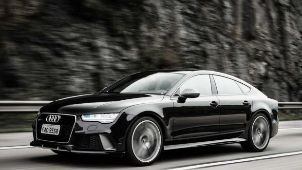 Audi RS7 Performance, o carro do Neymar