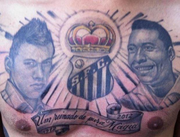 As melhores, ou piores, tatuagens de time de futebol
