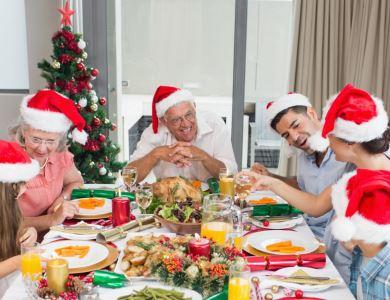 Mesa farta: comida boa e família reunida tornam a festa ainda mais especial