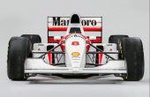 McLaren, equipe em que Senna conquistou seus três títulos mundiais