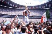 A Copa de 1986, conquistada pela Argentina, teve a famosa mãozinha de Maradona nas quartas de final