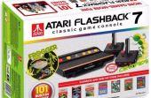 O Flashback 7 remete à primeira versão do Atari, que foi lançado em 1977 nos EUA e chegou ao Brasil em 1983