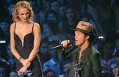 O cantor Bruno Mars é um dos astros mais conhecidos atualmente, mas seu tamanho de 1,65 m já rendeu muitas piadas na Internet
