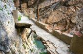 Caminito del Rey: é melhor olhar por onde anda