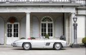 Essa Mercedes é um dos carros em melhor estado de conservação