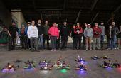 O começo de uma nova era: em solo americano, a Drone Racing League vai estrear sua primeira temporada