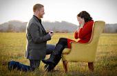 Não sabe como impressionar a namorada na hora de um pedido de casamento? Eles te ajudam!