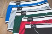 A cueca está disponível em cinco cores diferentes e custa entre 100 e 150 reais