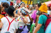 As escolas de samba de São Paulo estão com os ensaios técnicos a todo vapor no Sambódromo do Anhembi