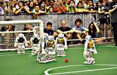 Robô também sabe jogar bola