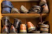 Organize seu espaço e procure não empilhar pares para não deformá-los ou danificá-los. E limpe os sapatos antes de guardá-los