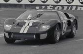 O GT40 Mark II venceu a prova de Le Mans por quatro anos consecutivos (1966 a 1969)